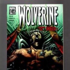 Cómics: WOLVERINE 26 - MARVEL 2005 VFN/NM / MILLAR & ROMITA JR / AGENT OF SHIELD. Lote 168595116