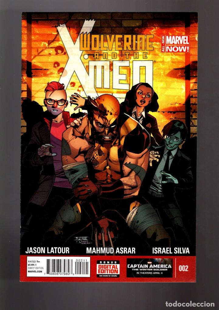 Cómics: WOLVERINE AND THE X-MEN 2 - MARVEL 2014 VFN/NM - Foto 1 - 168598752