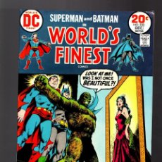 Cómics: WORLD'S FINEST 220 SUPERMAN AND BATMAN - DC 1973 FN+. Lote 168621600