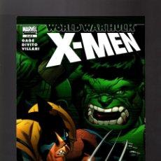 Cómics: WORLD WAR HULK X-MEN 2 - MARVEL 2007 VFN/NM / HULK VS WOLVERINE. Lote 168623316