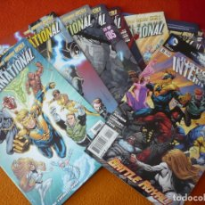 Cómics: JUSTICE LEAGUE INTERNATIONAL NºS 1 AL 9 + 11 ( EN INGLES ) ¡MUY BUEN ESTADO! USA DC THE NEW 52. Lote 168659420