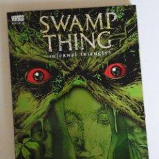 Cómics: SWAMP THING, INFERNAL TRIANGLES. ETAPA POST ALAN MOORE. INEDITO EN ESPAÑA. CON SUPERMAN. Lote 168914764