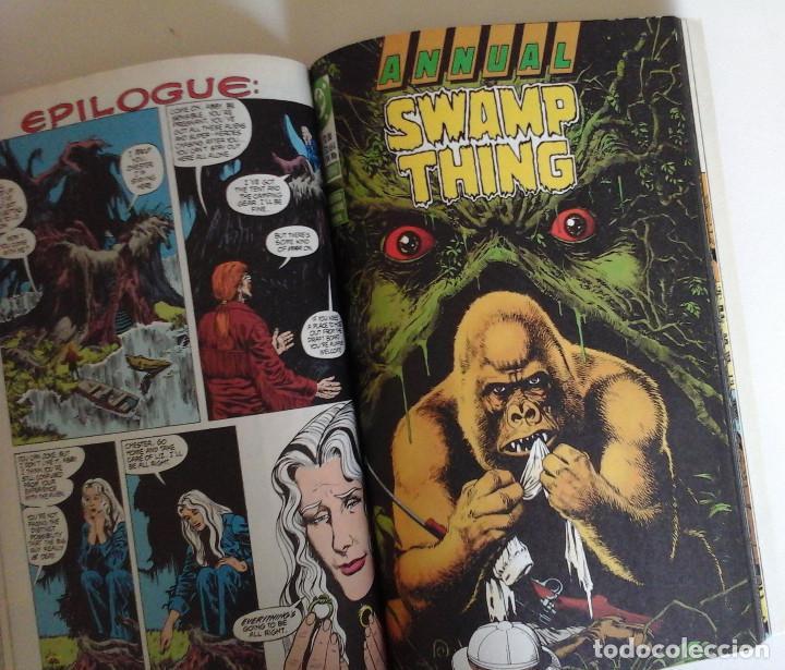 Cómics: Swamp Thing, Infernal Triangles. Etapa post Alan Moore. Inedito en España. Con Superman - Foto 3 - 168914764