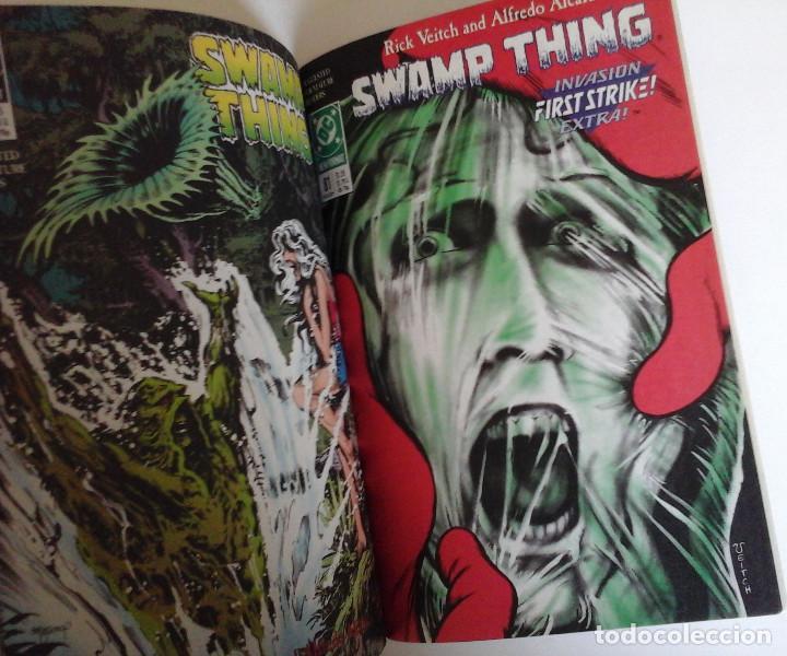 Cómics: Swamp Thing, Infernal Triangles. Etapa post Alan Moore. Inedito en España. Con Superman - Foto 4 - 168914764