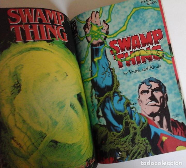 Cómics: Swamp Thing, Infernal Triangles. Etapa post Alan Moore. Inedito en España. Con Superman - Foto 5 - 168914764