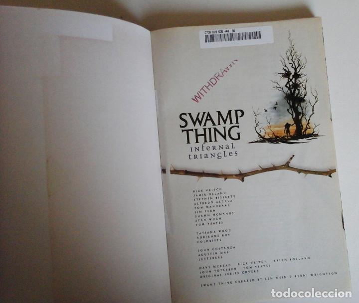 Cómics: Swamp Thing, Infernal Triangles. Etapa post Alan Moore. Inedito en España. Con Superman - Foto 6 - 168914764