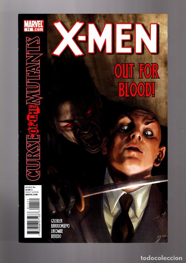 X-MEN 11 - MARVEL 2011 VFN/NM (Tebeos y Comics - Comics Lengua Extranjera - Comics USA)