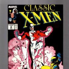 Cómics: X-MEN CLASSIC 16 ( UNCANNY X-MEN 109 ) MARVEL 1987 VFN. Lote 168947220
