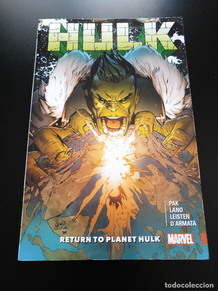 HULK RETURN TO PLANET HULK TPB - INGLÉS (Tebeos y Comics - Comics Lengua Extranjera - Comics USA)