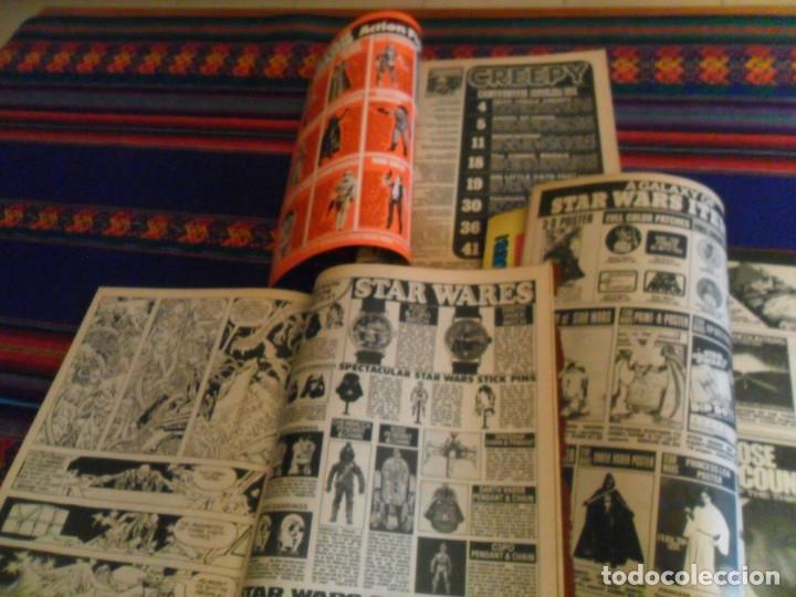 Cómics: CON MUCHA PUBLICIDAD DE STAR WARS LA GUERRA DE LAS GALAXIAS, 3 NºS DE CREEPY. 1978. WARREN. - Foto 2 - 169180020
