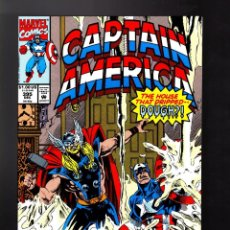 Cómics: CAPTAIN AMERICA 395 - MARVEL 1991 VFN/NM / THOR. Lote 169315596