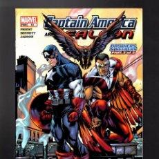 Cómics: CAPTAIN AMERICA AND FALCON 10 - MARVEL 2005 VFN-. Lote 169323816