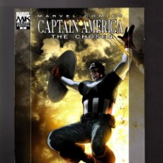 Cómics: CAPTAIN AMERICA THE CHOSEN 4 - MARVEL 2007 VFN/NM VARIANT COVER. Lote 169324360