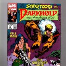 Cómics: DARKHOLD 4 - MARVEL 1993 VFN+ / SABRETOOTH. Lote 169377064