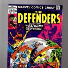 Cómics: DEFENDERS 58 - MARVEL 1978 VFN/NM / RETURN OF DOCTOR STRANGE / DEVIL SLAYER. Lote 169386256