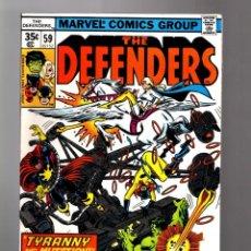 Cómics: DEFENDERS 59 - MARVEL 1978 VFN/NM / HULK / DOCTOR STRANGE / DEVIL SLAYER. Lote 169386428