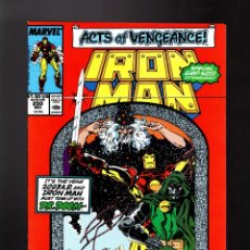Cómics: IRON MAN 250 # MARVEL 1989 VFN/NM CLASSIC IRON MAN & DOCTOR DOOM / DAVID MICHELINIE & BOB LAYTON. Lote 170014732