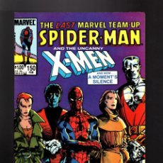 Cómics: MARVEL TEAM UP 150 - 1985 VFN # SPIDER-MAN AND X-MEN / ULTIMO NUMERO !. Lote 170094112