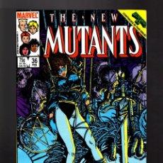 Cómics: NEW MUTANTS 36 - MARVEL 1986 VFN/NM / CHRIS CLAREMONT & BILL SIENKIEWICZ / SECRET WARS II. Lote 170103592