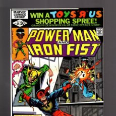 Cómics: POWER-MAN AND IRON FIST 65 # MARVEL 1980 VFN/NM. Lote 170663930
