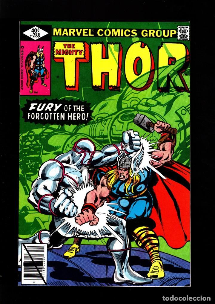 THOR 288 - MARVEL 1979 VFN / THOMAS & POLLARD / ETERNALS CELESTIALS SAGA (Tebeos y Comics - Comics Lengua Extranjera - Comics USA)