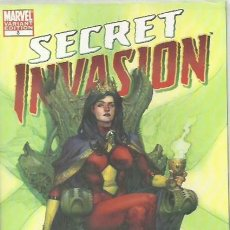 Cómics: SECRET INVASION 3 YU VARIANT COVER VF+ NM LIMITED VARIANT COVER BY LEINIL YU.. Lote 170908190