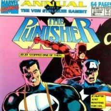 Comics: PUNISHER (1987 SERIES) ANNUAL #4 . MARVEL COMICS.. Lote 171005667