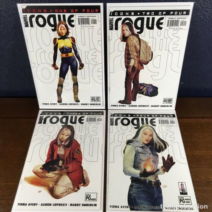 marvel rogue complete mini series 1 2 3 4 (2001 - Buy Old Comics ...