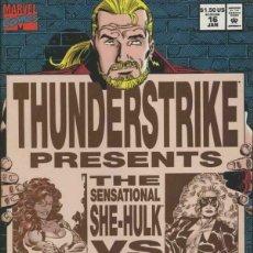 Cómics: THUNDERSTRIKE 16 - MARVEL 1995 / SHE-HULK VS TITANIA. INEDITO EN ESPAÑA. THOR.. Lote 171009804
