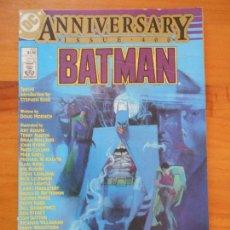 Cómics: BATMAN # 400 - ANNIVERSARY ISSUE 400 - DC - USA - EN INGLES (FI1). Lote 171596014