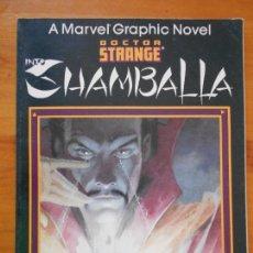 Cómics: A MARVEL GRAPHIC NOVEL DOCTOR STRANGE INTO SHAMBALLA - USA - EN INGLES (AH). Lote 171596819