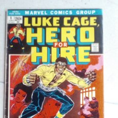 Cómics: POWER-MAN / HERO FOR HIRE 1 - MARVEL 1972 VG / 1ST LUKE CAGE. Lote 171701418
