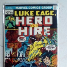 Cómics: POWER-MAN / LUKE CAGE HERO FOR HIRE 7 - MARVEL 1973 FN. Lote 171701560