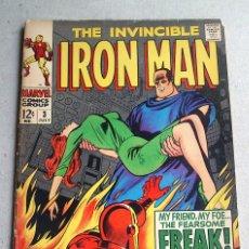 Cómics: IRON MAN Nº 3 VOL 1 - 1968 - MARVEL COMICS GROUP - LEE. Lote 172055295