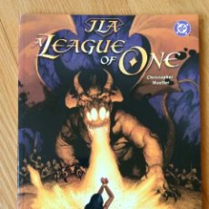 Cómics: JUSTICE LEAGUE OF AMERICA: A LEAGUE OF ONE. Lote 172442912