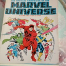 Cómics: THE OFFICIAL HANDBOOK OF THE MARVEL UNIVERSE VOLUME TWO, COLOR. Lote 173099024