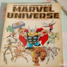 Cómics: THE OFFICIAL HANDBOOK OF THE MARVEL UNIVERSE VOLUME SEVEN, COLOR. Lote 173099077