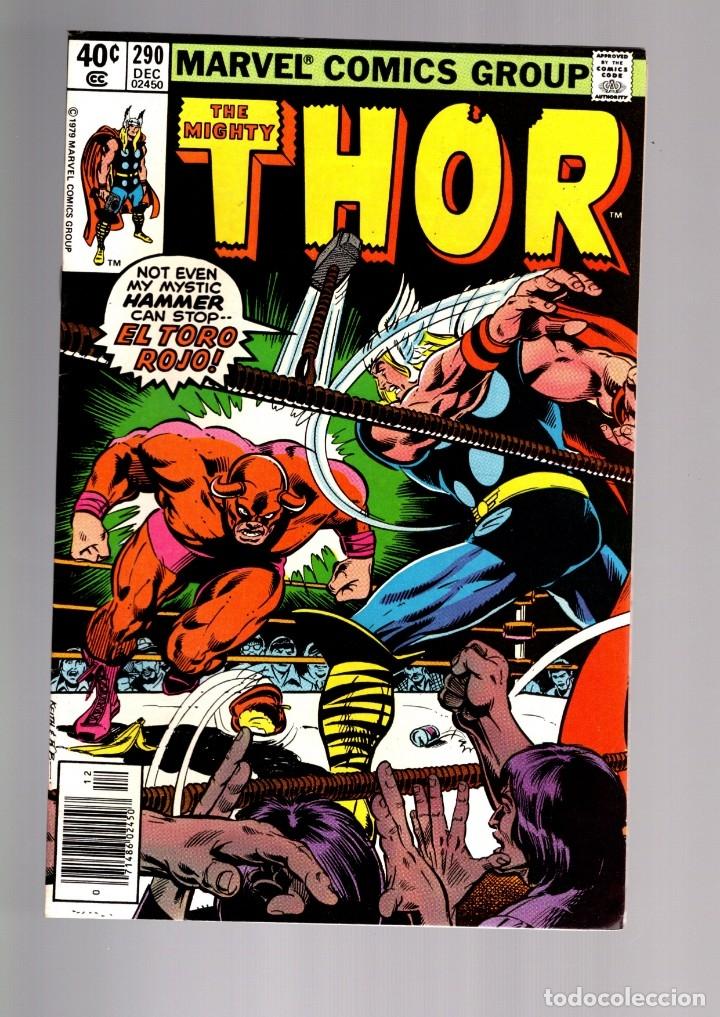 THOR 290 - MARVEL 1979 VFN/NM / THOMAS & JONES / ETERNALS CELESTIALS SAGA (Tebeos y Comics - Comics Lengua Extranjera - Comics USA)