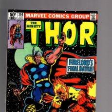Cómics: THOR 306 - MARVEL 1981 VFN / GRUENWALD & POLLARD / FIRELORD. Lote 173140792