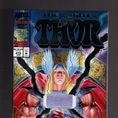 Comics : THOR 475 - MARVEL 1994 VFN/NM GIANT SIZE ANNIVERSARY EMBOSSED COVER. Lote 173144504