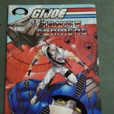 Cómics: GIJOE VS THE TRANSFORMERS Nº 5 EDICION AMERICANA ESTADO MUY BUENO MAS ARTICULOS NEGOCIABLE. Lote 173164508