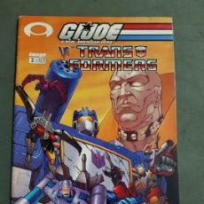 Cómics: GIJOE VS THE TRANSFORMERS Nº 2 EDICION AMERICANA ESTADO MUY BUENO MAS ARTICULOS NEGOCIABLE. Lote 173164550