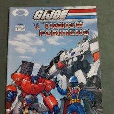Cómics: GIJOE VS THE TRANSFORMERS Nº 4 EDICION AMERICANA ESTADO MUY BUENO MAS ARTICULOS NEGOCIABLE. Lote 173164594