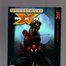 Cómics: ULTIMATE X-MEN 36 - MARVEL 2003 VFN / ULTIMATE SPIDER-MAN & DAREDEVIL. Lote 173230057