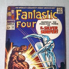 Cómics: FANTASTIC FOUR VOL 1 N 55 - 1966 - LEE KIRBY SINNOTT ROSEN - MARVEL. Lote 173483424