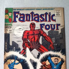Cómics: FANTASTIC FOUR VOL 1 N 56 - 1966 - LEE KIRBY SINNOTT SIMEK - MARVEL. Lote 173483450