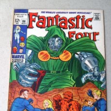 Cómics: FANTASTIC FOUR VOL 1 N 86 - 1969 - LEE KIRBY SINNOTT ROSEN - MARVEL. Lote 173483585