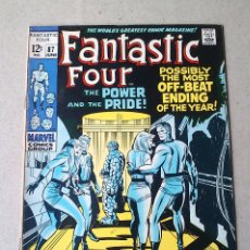 Cómics: FANTASTIC FOUR VOL 1 N 87 - 1969 - LEE KIRBY SINNOTT SIMEK - MARVEL. Lote 173483680