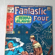Cómics: FANTASTIC FOUR VOL 1 N 90 - 1969 - LEE KIRBY SINNOTT ROSEN - MARVEL. Lote 173483704