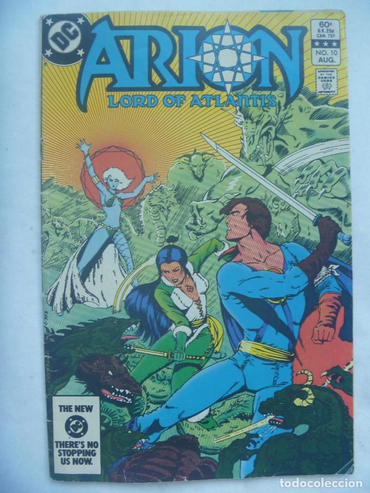 ARION , LORD OF ATLANTIS . DE DC COMICS . EDICION ORIGINAL EN INGLES. 1983 (Tebeos y Comics - Comics Lengua Extranjera - Comics USA)